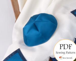 Kippah sewing pattern yarlmulke
