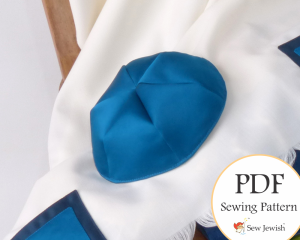Kippah sewing pattern yarlmulke