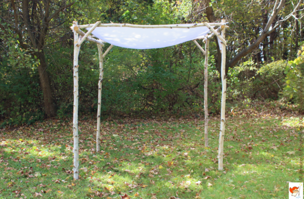 wedding chuppah Sew Jewish