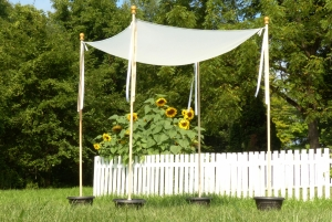 Simplicity Chuppah instructions from Sew Jewish book instructions