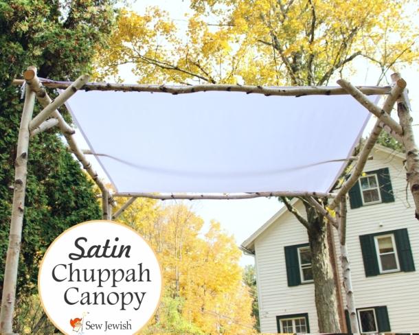 Satin Chuppah Canopy