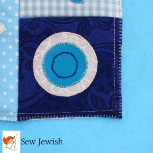 Shalom Shadow Box Mini Quilt Pattern