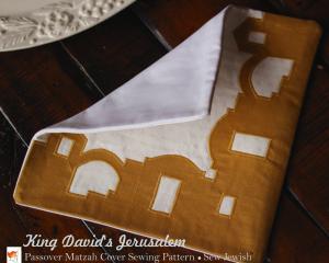 Passover Matzah Sewing Pattern PDF