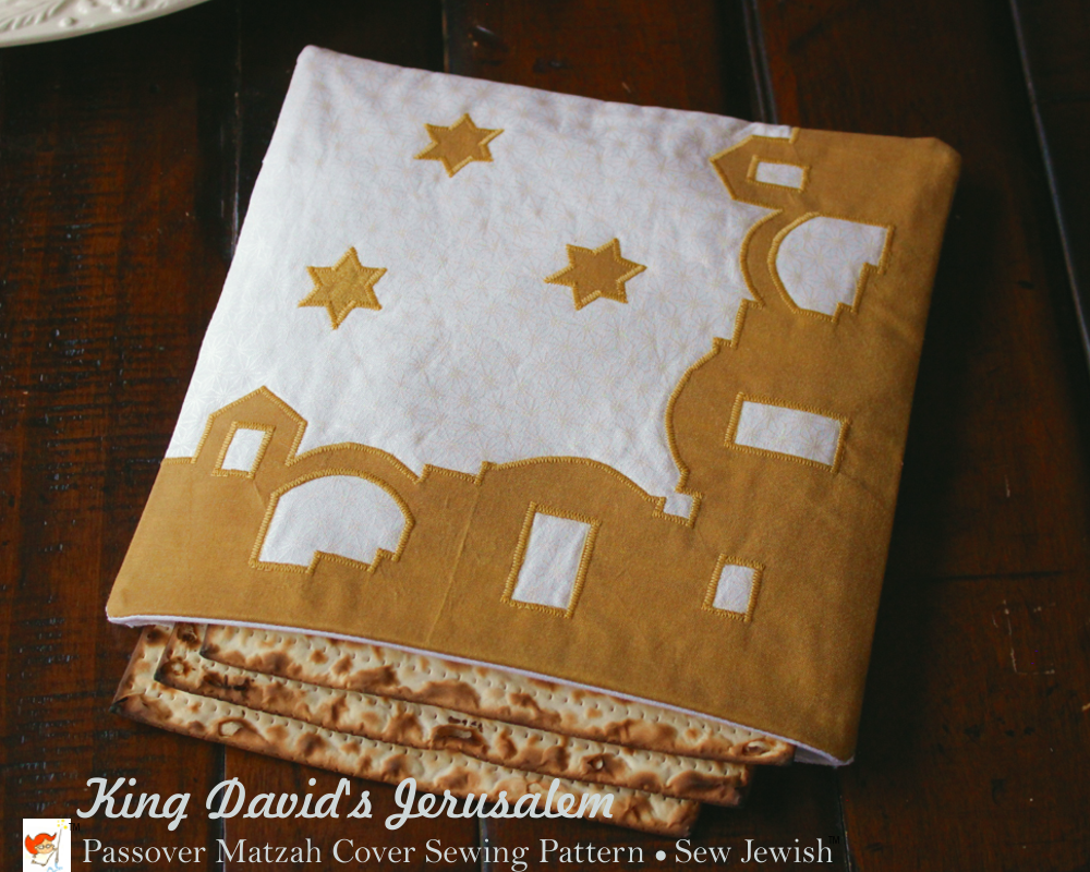 matzah cover sewing pattern