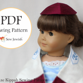 New Pattern: Doll Size Kippah