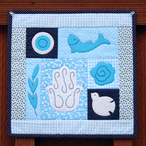 New Mini Quilt Pattern: Sew Peace
