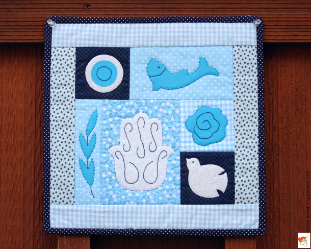 Sew Peace Mini Quilt Pattern