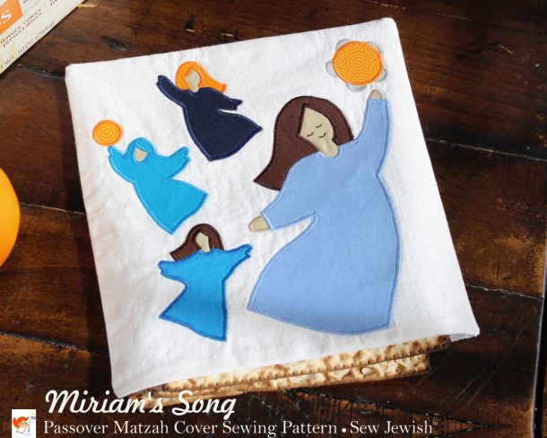 Miriams Song Passover Matzah Cover